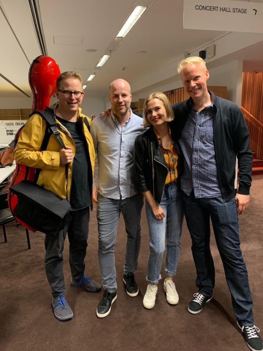 Timo-Veikko, Björn, Satu & Visa